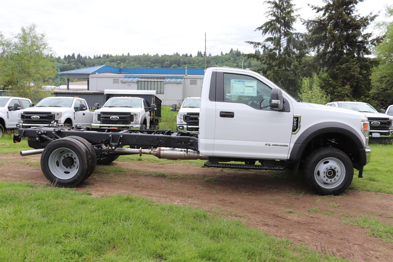 2020 F-550 Regular Cab DRW 4x4, Cab Chassis #E9263 - photo 5