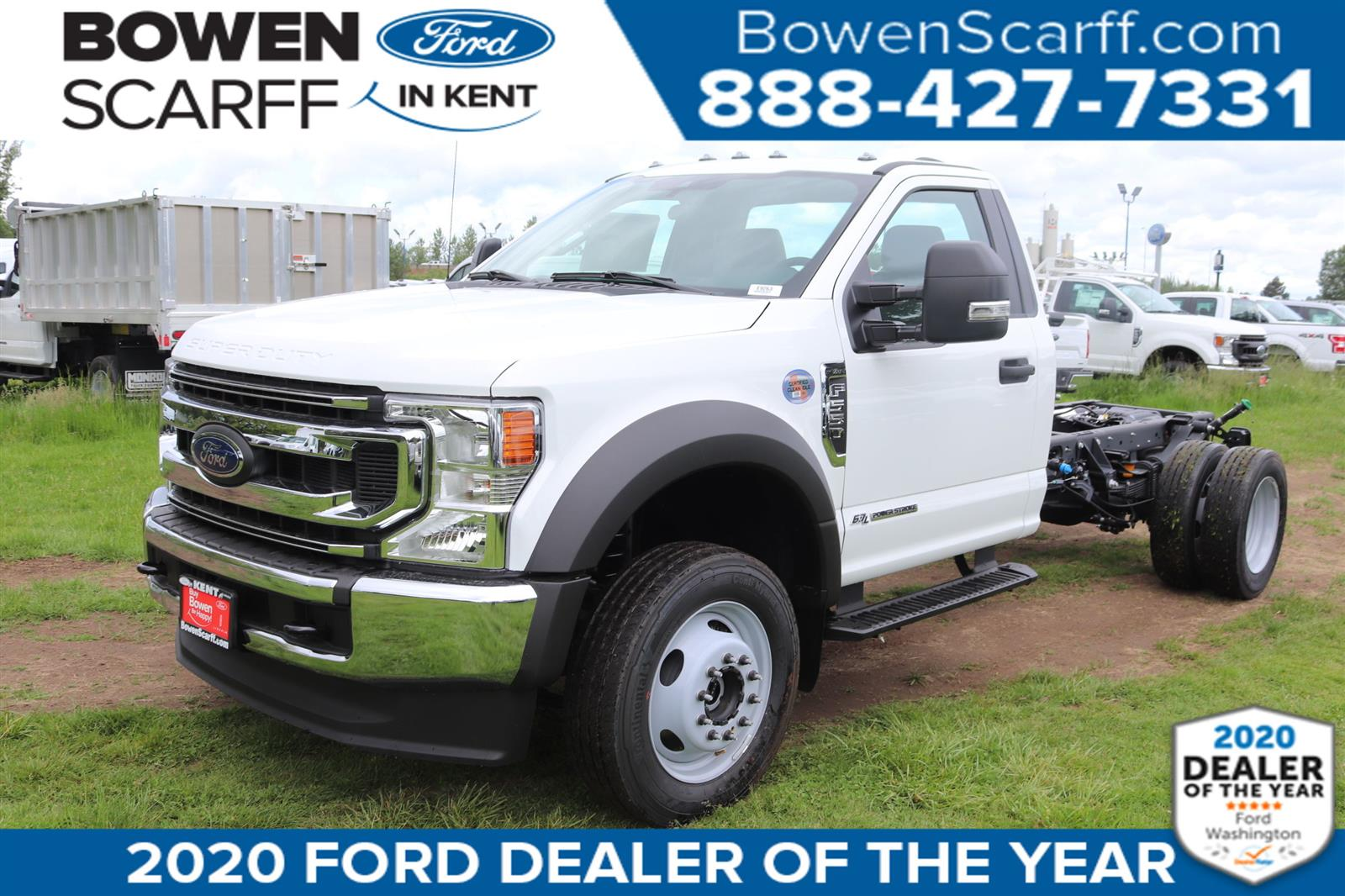 2020 Ford F-550 Regular Cab DRW 4x4, Cab Chassis #E9263 - photo 1