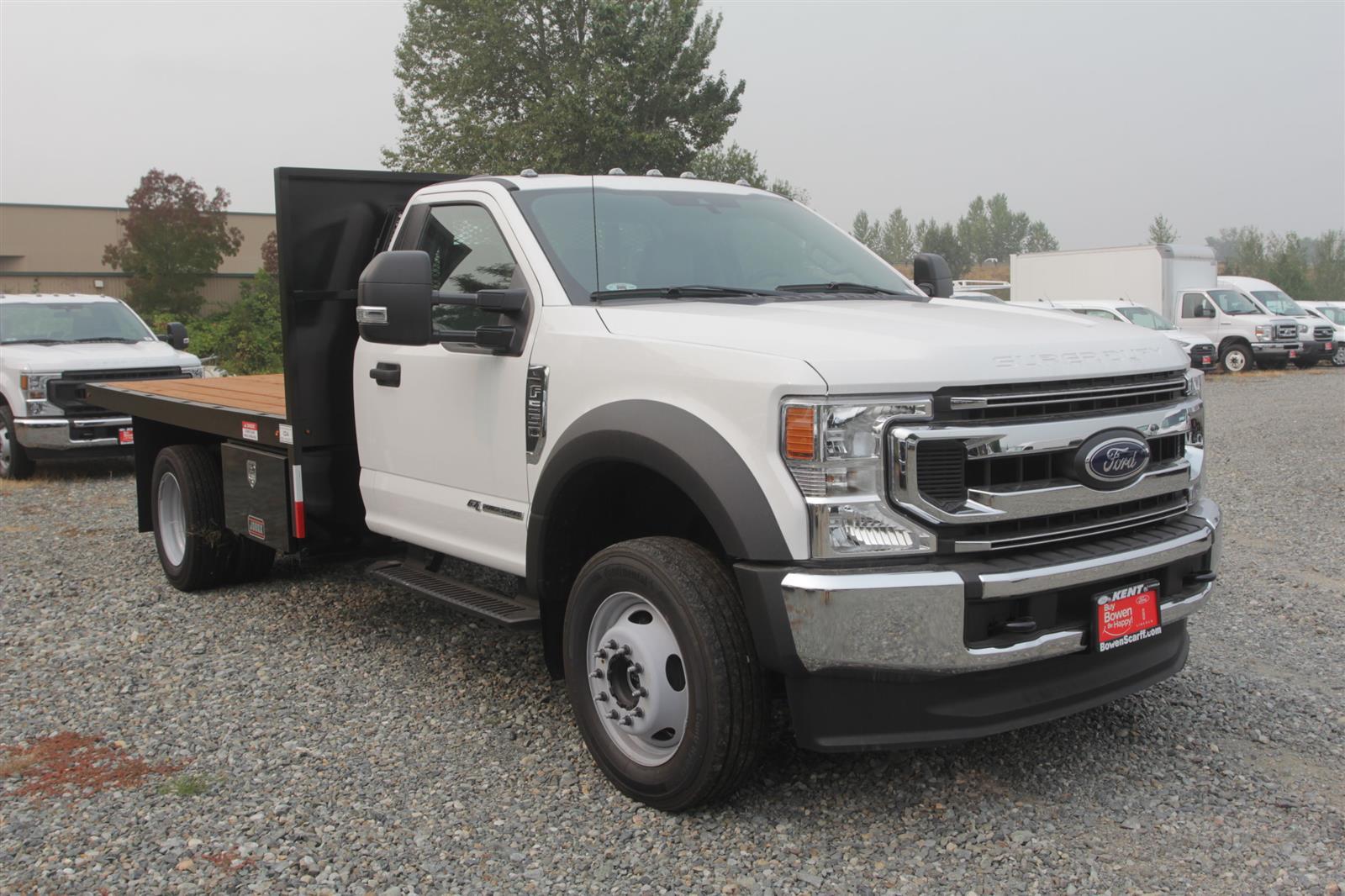 2020 Ford F-550 Regular Cab DRW 4x4, Independent Dealer Accessories Platform Body #E9263 - photo 4
