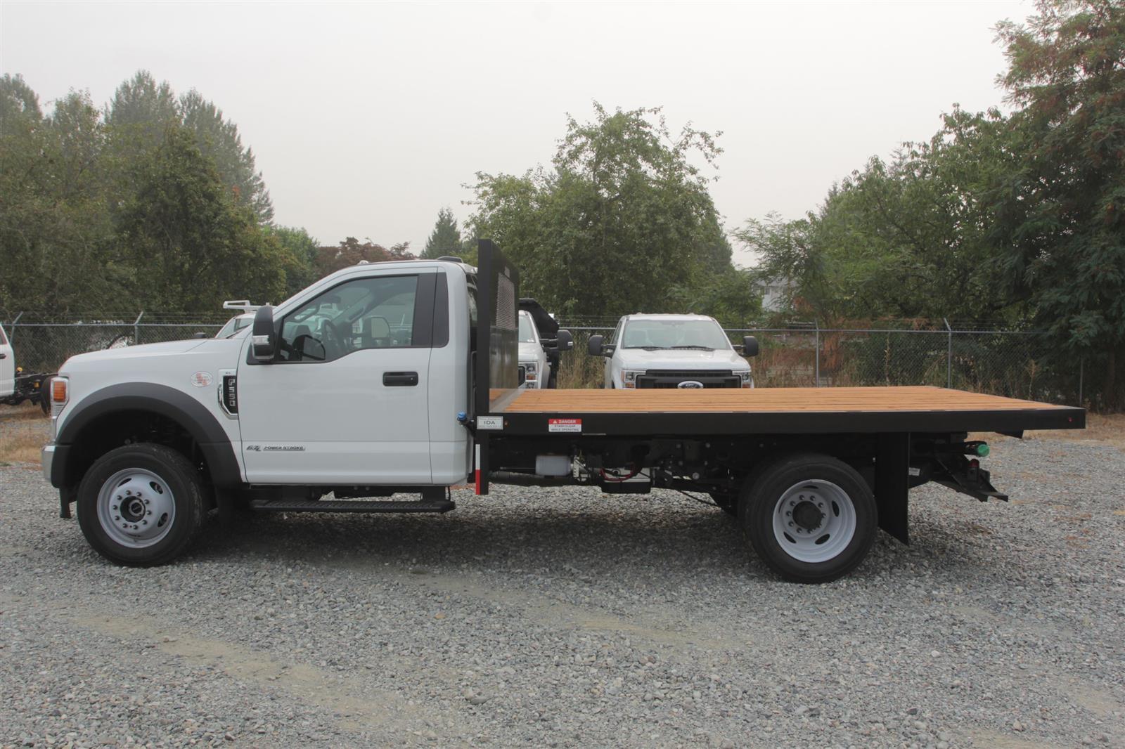 2020 Ford F-550 Regular Cab DRW 4x4, Independent Dealer Accessories Platform Body #E9263 - photo 8
