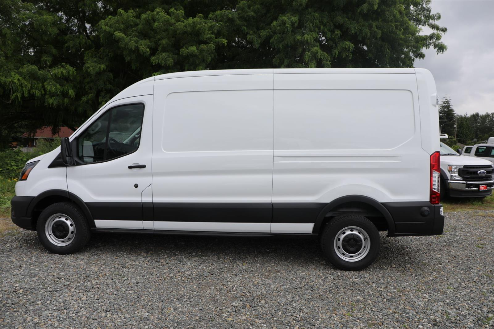 2020 Ford Transit 250 Med Roof RWD, Empty Cargo Van #E9273 - photo 9