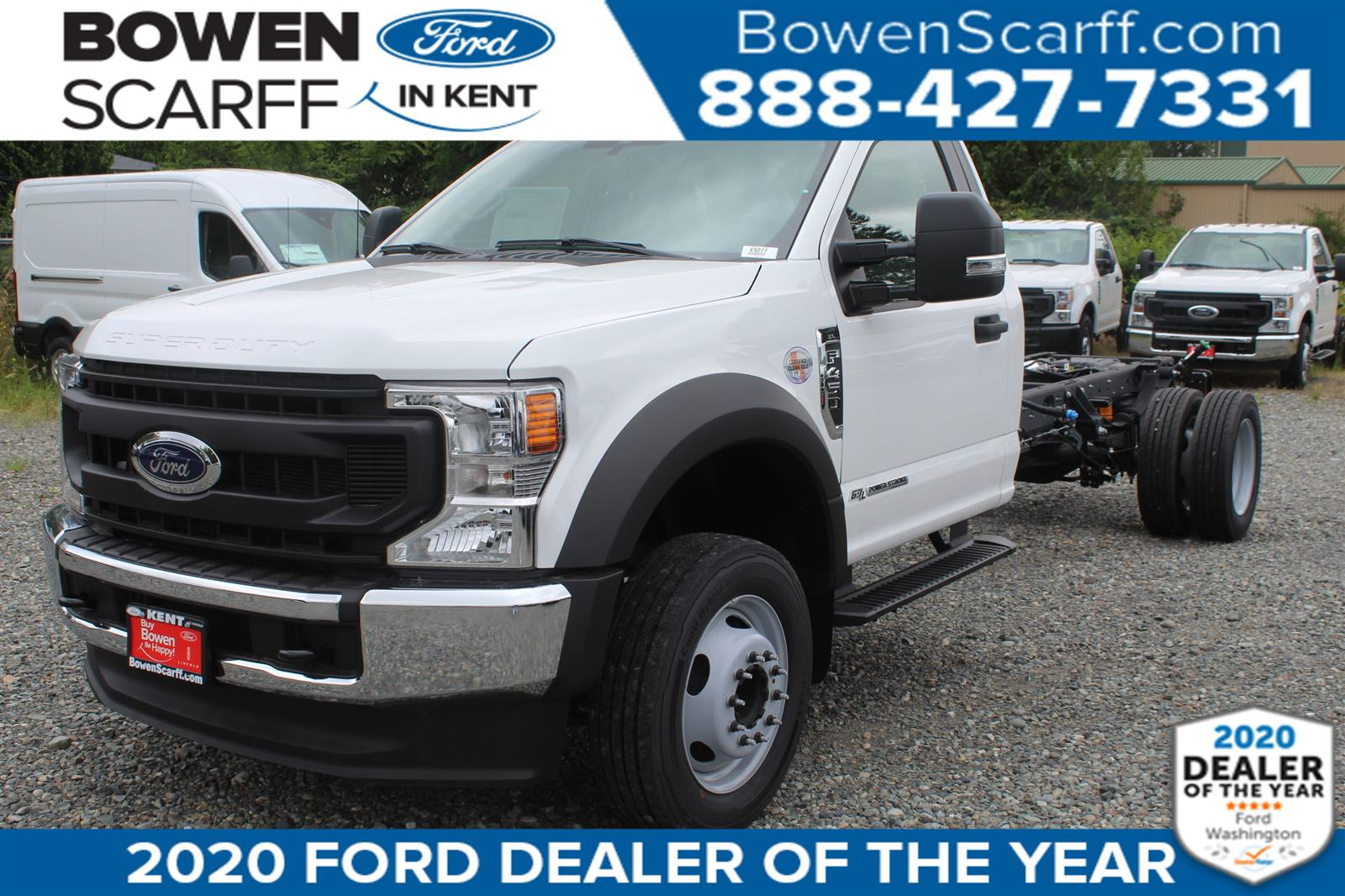 2020 Ford F-450 Regular Cab DRW 4x2, Cab Chassis #E9277 - photo 1