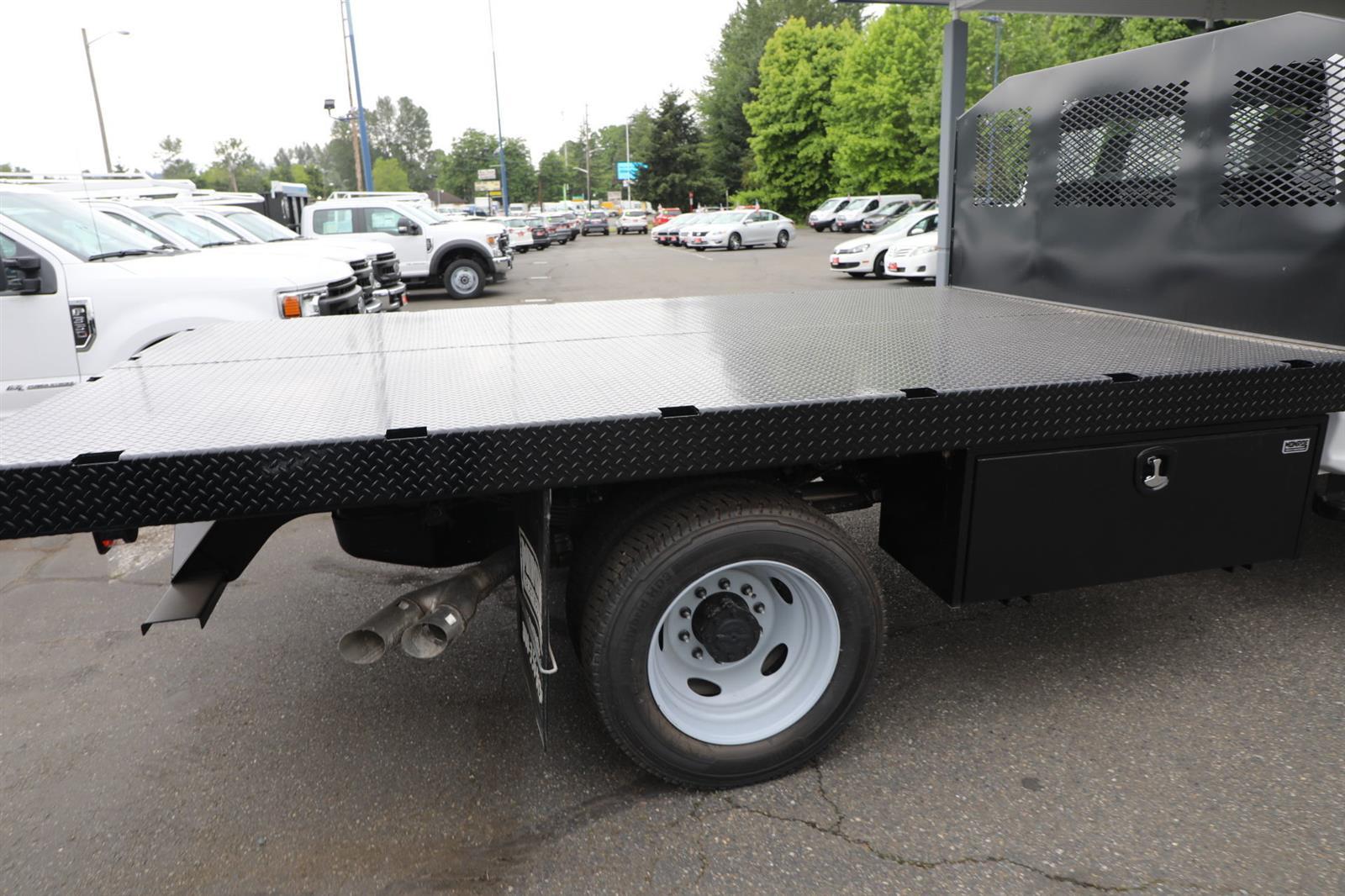 2019 Ford F-550 Regular Cab DRW 4x4, Monroe Work-A-Hauler II Platform Body #E9286 - photo 6