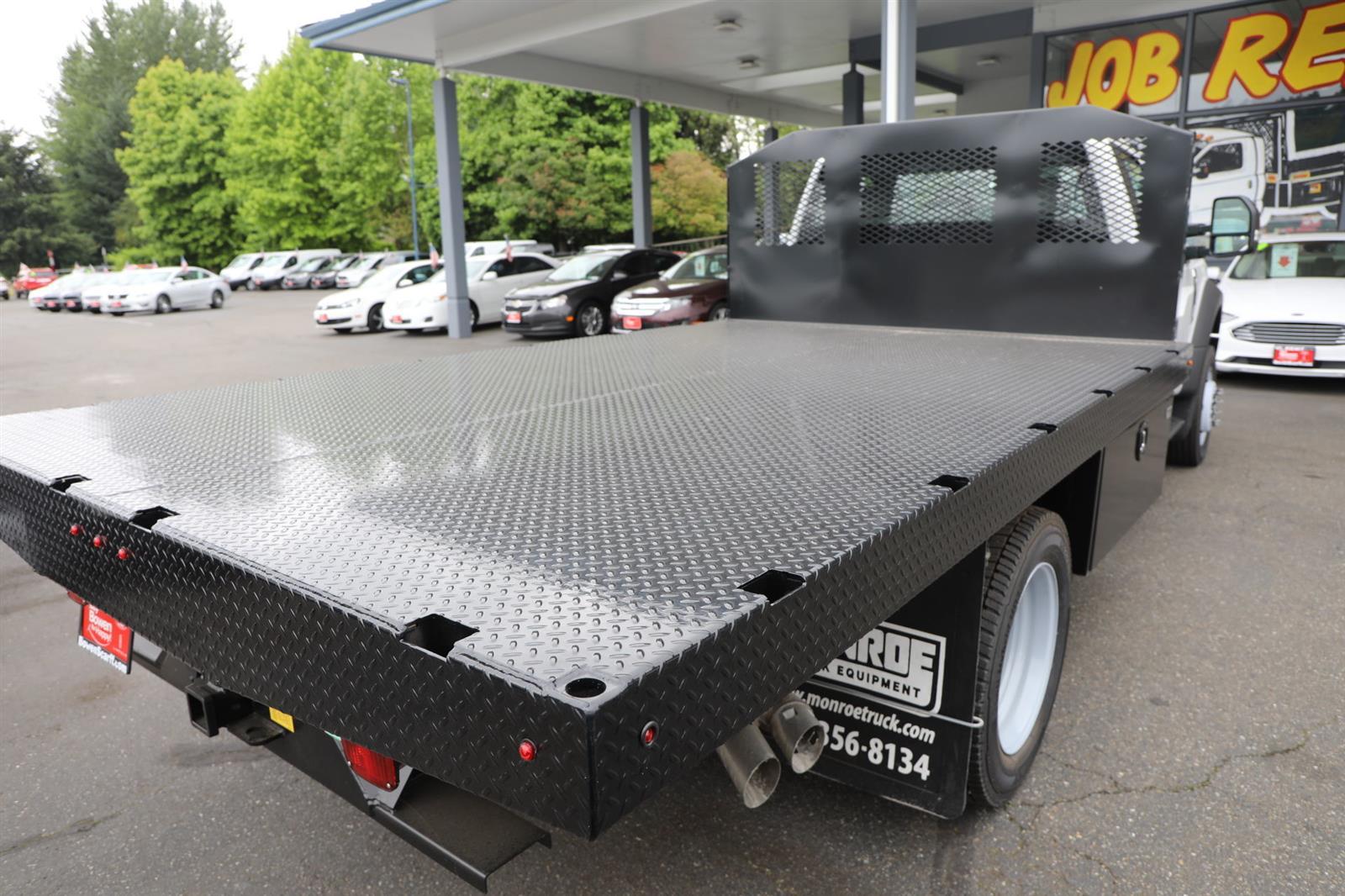 2019 Ford F-550 Regular Cab DRW 4x4, Monroe Work-A-Hauler II Platform Body #E9286 - photo 7