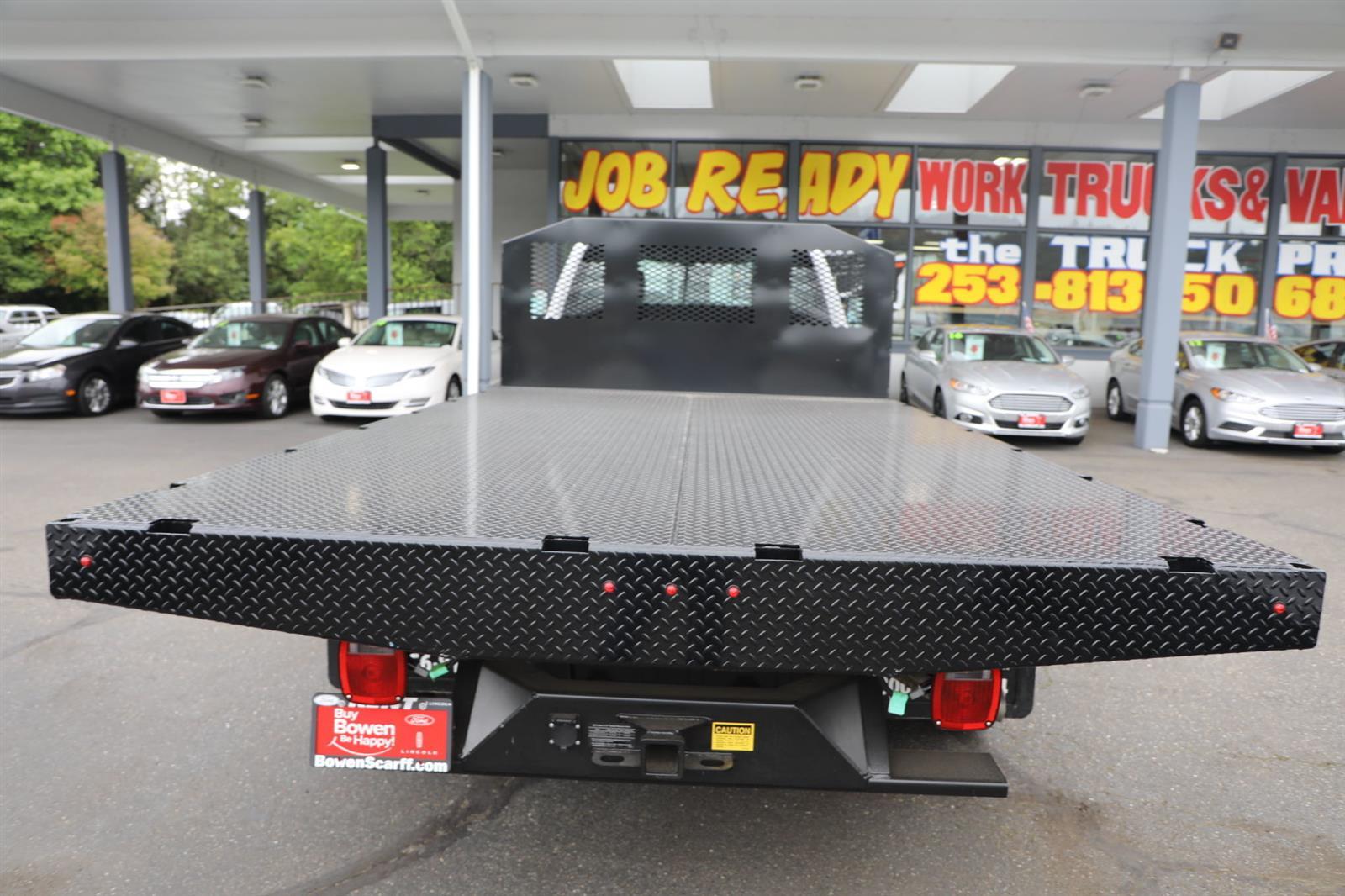 2019 Ford F-550 Regular Cab DRW 4x4, Monroe Work-A-Hauler II Platform Body #E9286 - photo 8