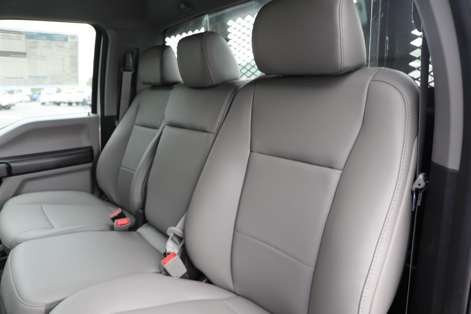 2019 Ford F-550 Regular Cab DRW 4x4, Monroe Work-A-Hauler II Platform Body #E9286 - photo 16