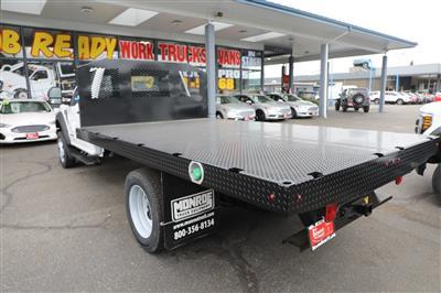 2019 Ford F-550 Regular Cab DRW 4x4, Monroe Work-A-Hauler II Platform Body #E9286 - photo 2