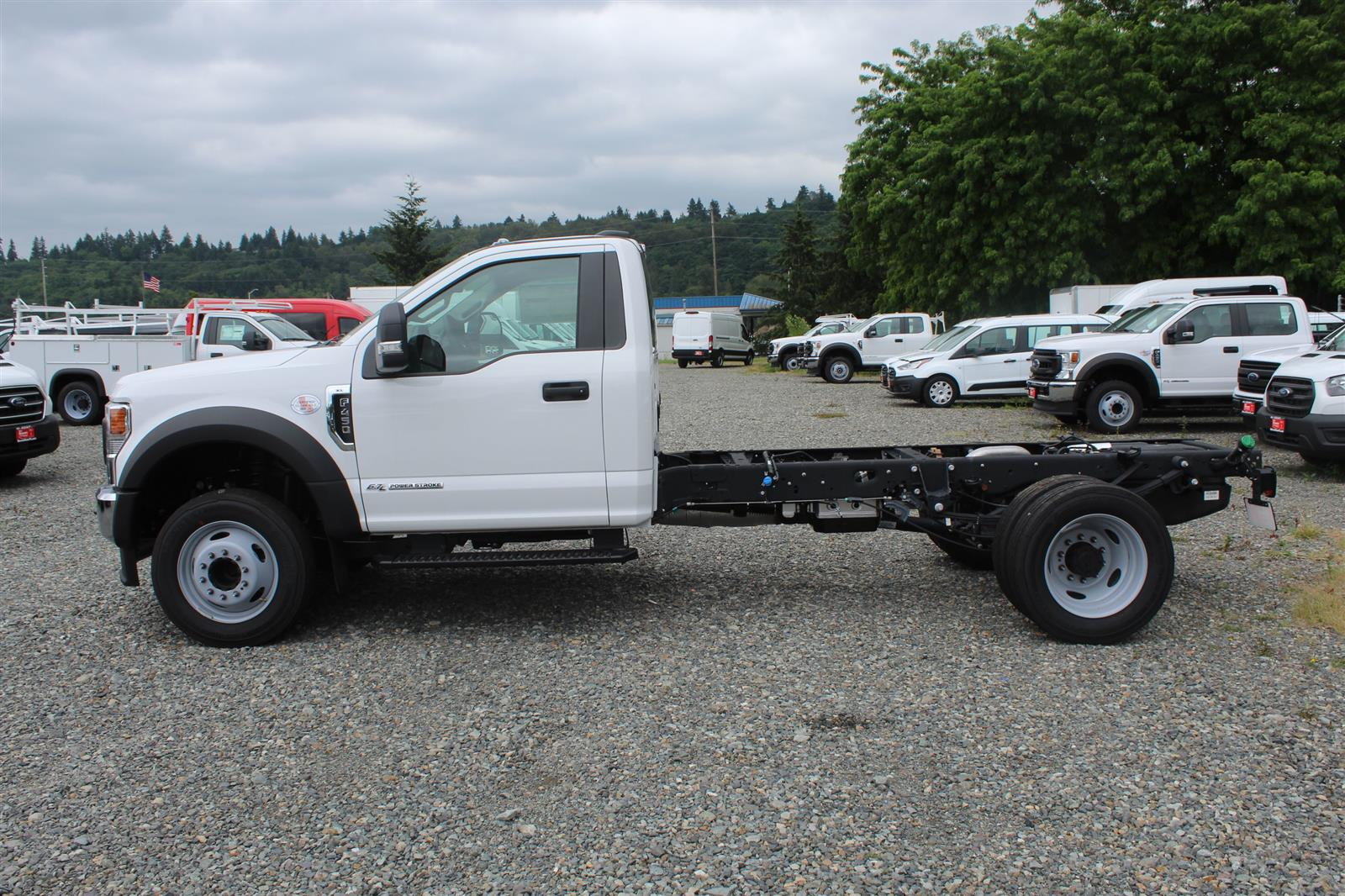 2020 Ford F-450 Regular Cab DRW 4x2, Cab Chassis #E9292 - photo 9