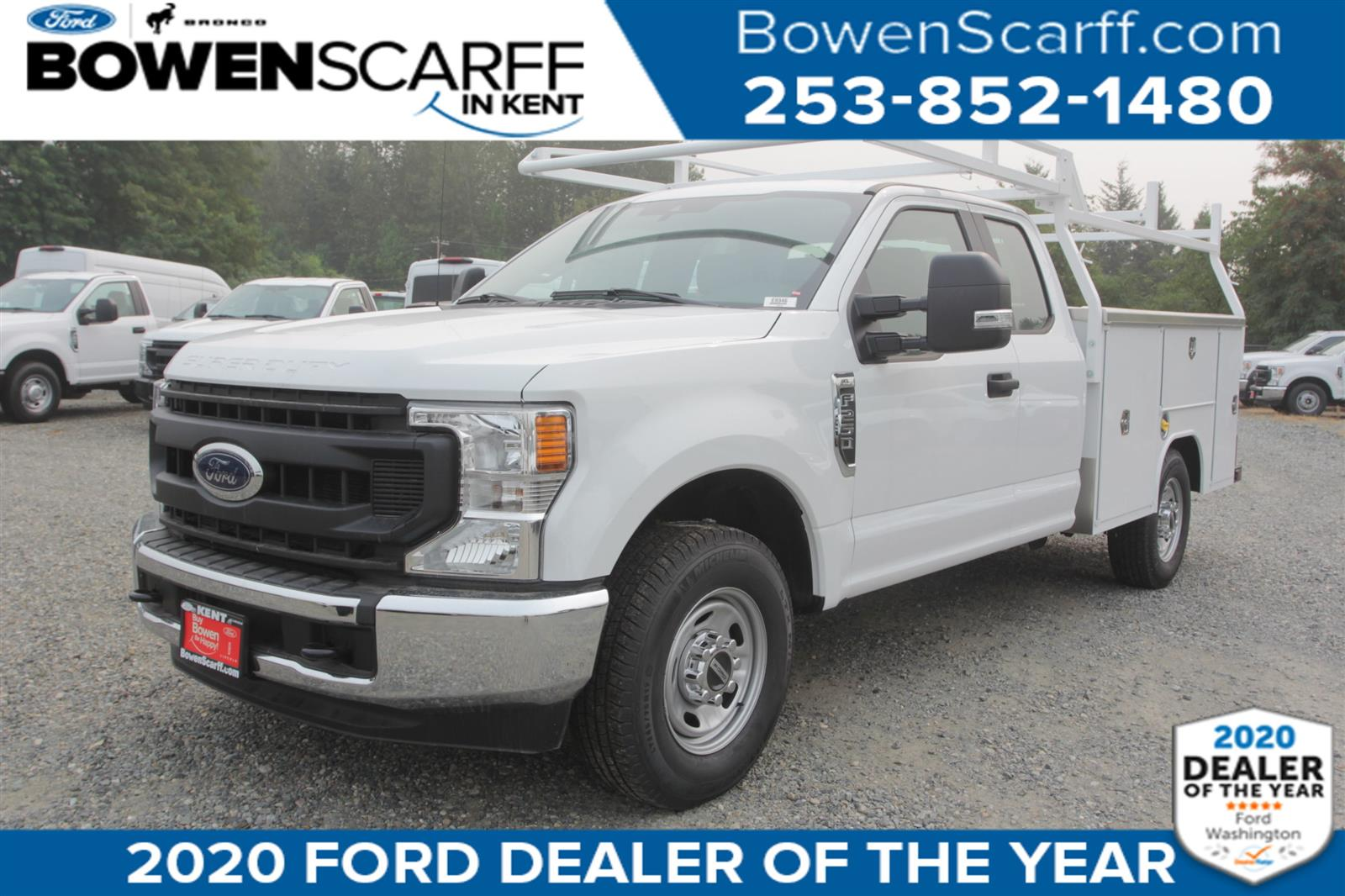 2020 Ford F-250 Super Cab 4x2, Harbor Service Body #E9346 - photo 1