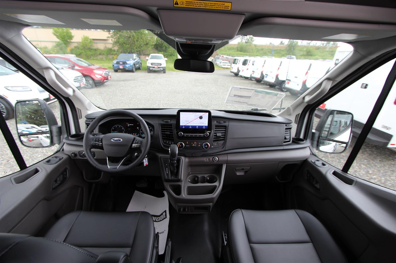 2020 Transit 250 Med Roof AWD, Empty Cargo Van #E9352 - photo 12