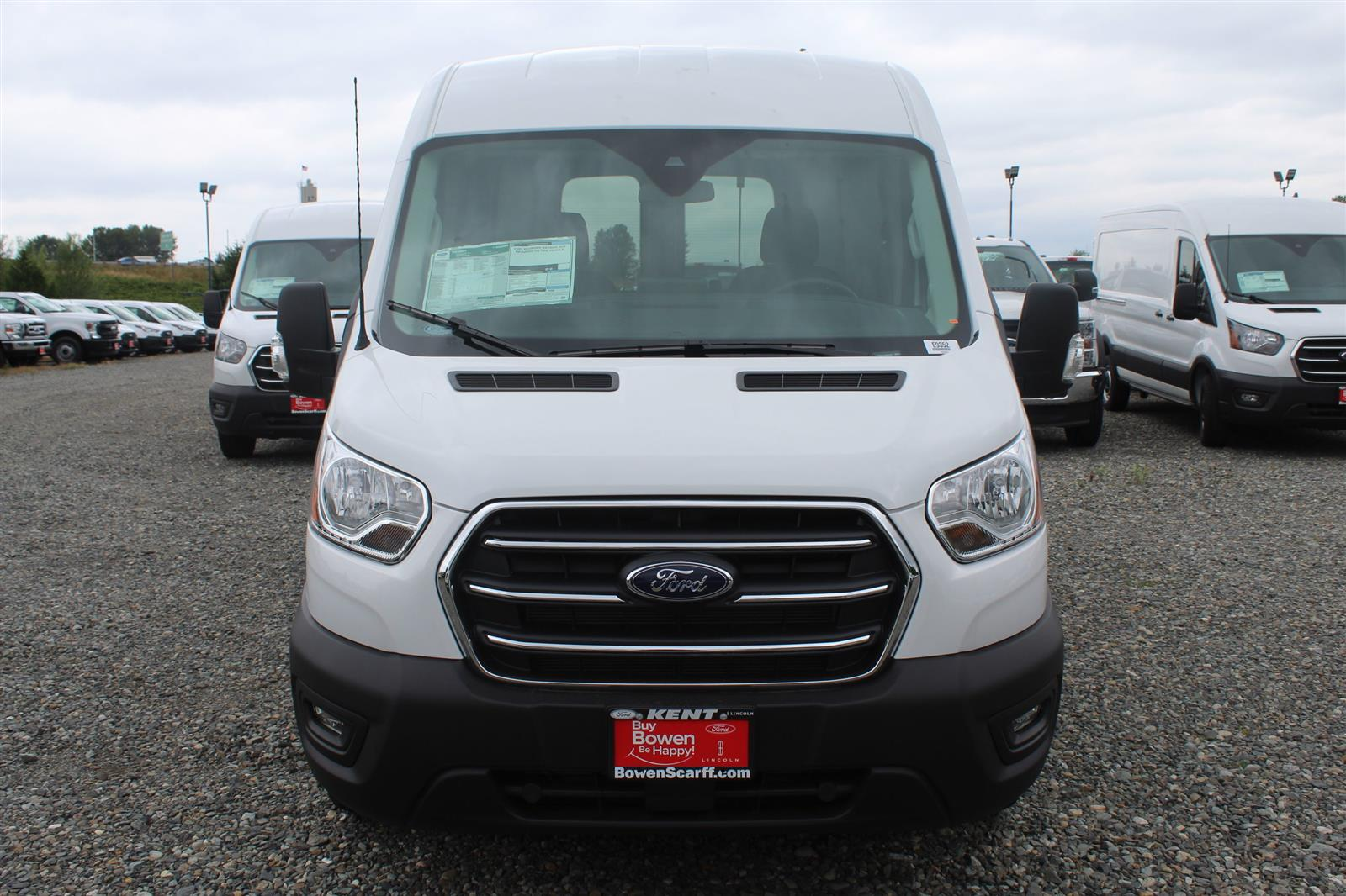 2020 Ford Transit 250 Med Roof AWD, Empty Cargo Van #E9352 - photo 3