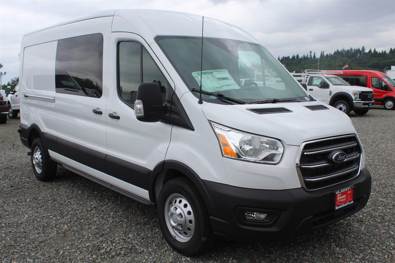 2020 Ford Transit 250 Med Roof AWD, Empty Cargo Van #E9352 - photo 4