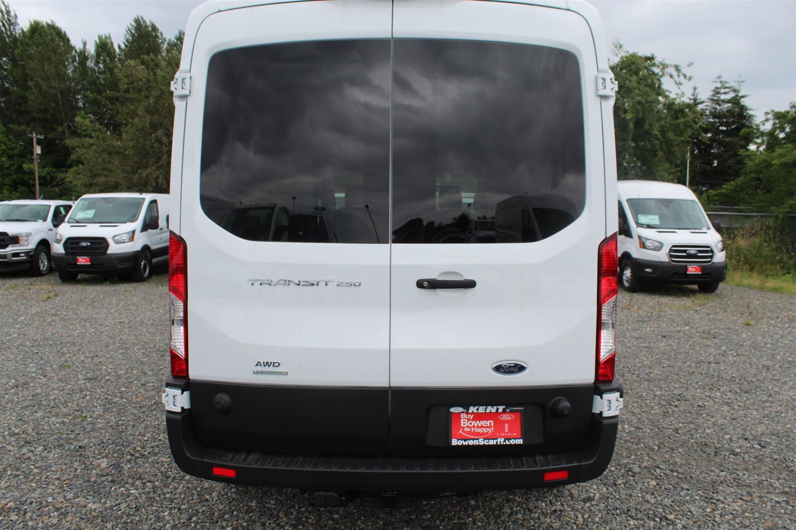 2020 Ford Transit 250 Med Roof AWD, Empty Cargo Van #E9352 - photo 10