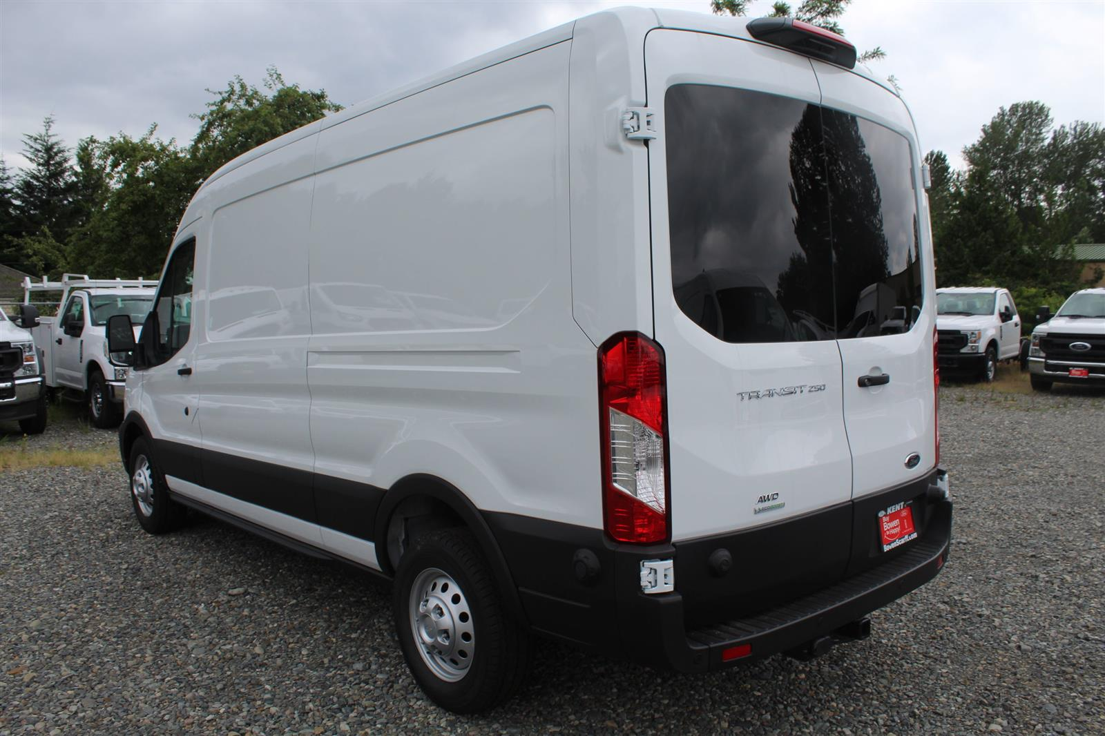2020 Ford Transit 250 Med Roof AWD, Empty Cargo Van #E9352 - photo 11