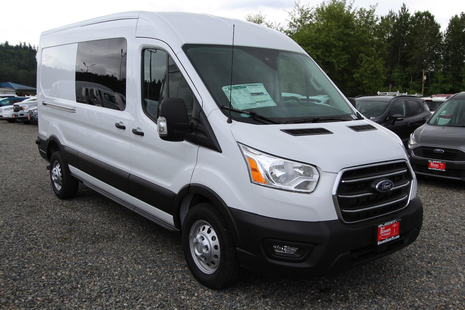 2020 Transit 250 Med Roof AWD, Empty Cargo Van #E9352 - photo 4