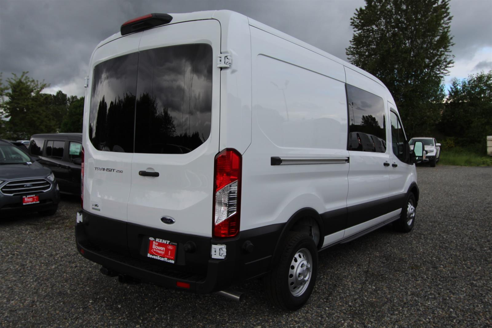 2020 Transit 250 Med Roof AWD, Empty Cargo Van #E9352 - photo 7