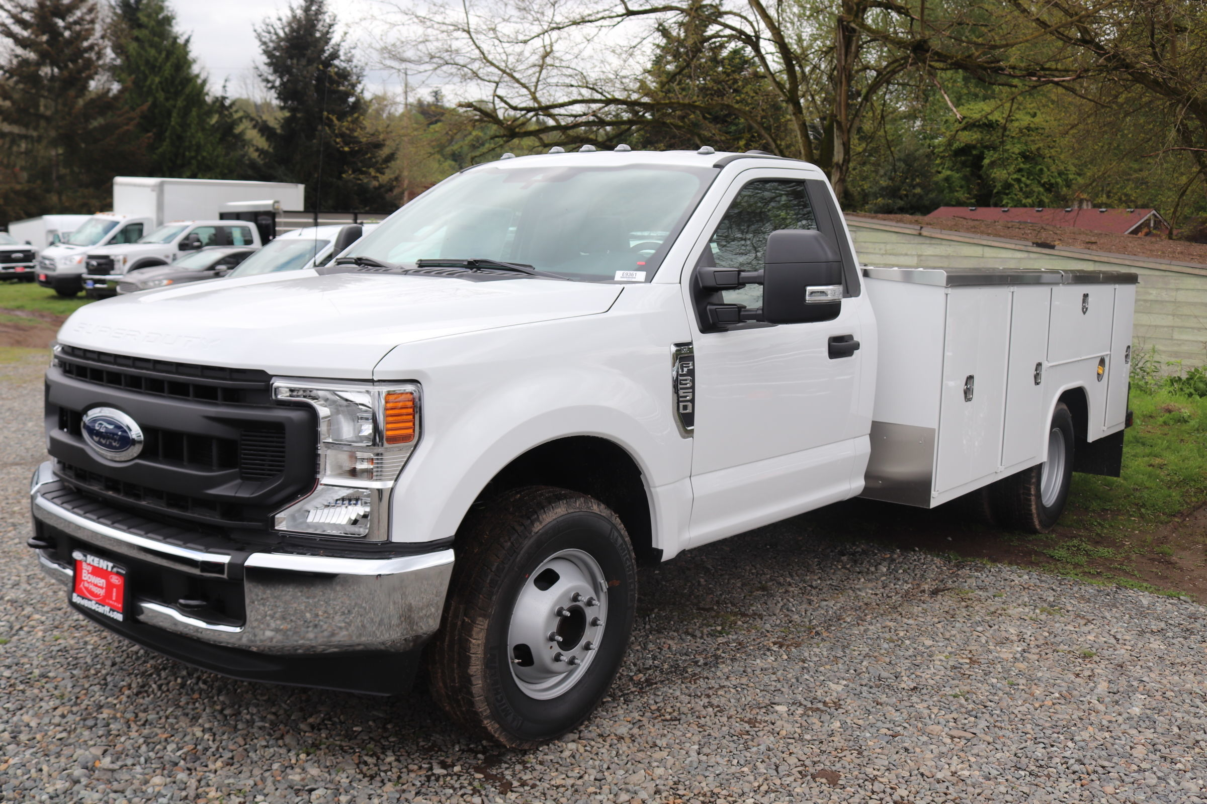 2020 F-350 Regular Cab DRW 4x2, Harbor Service Body #E9361 - photo 1