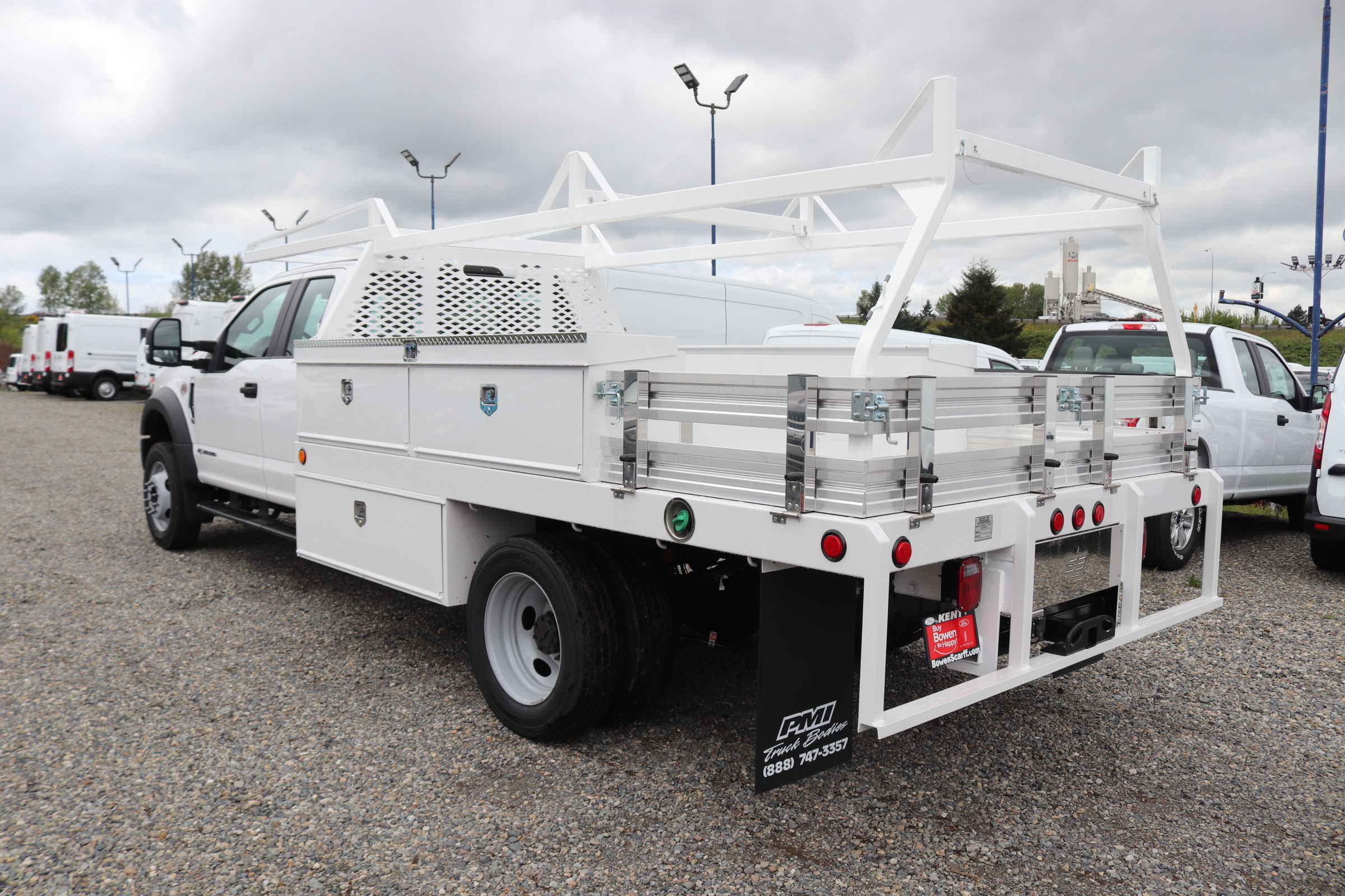 2020 F-450 Super Cab DRW 4x4, Scelzi Contractor Body #E9414 - photo 1