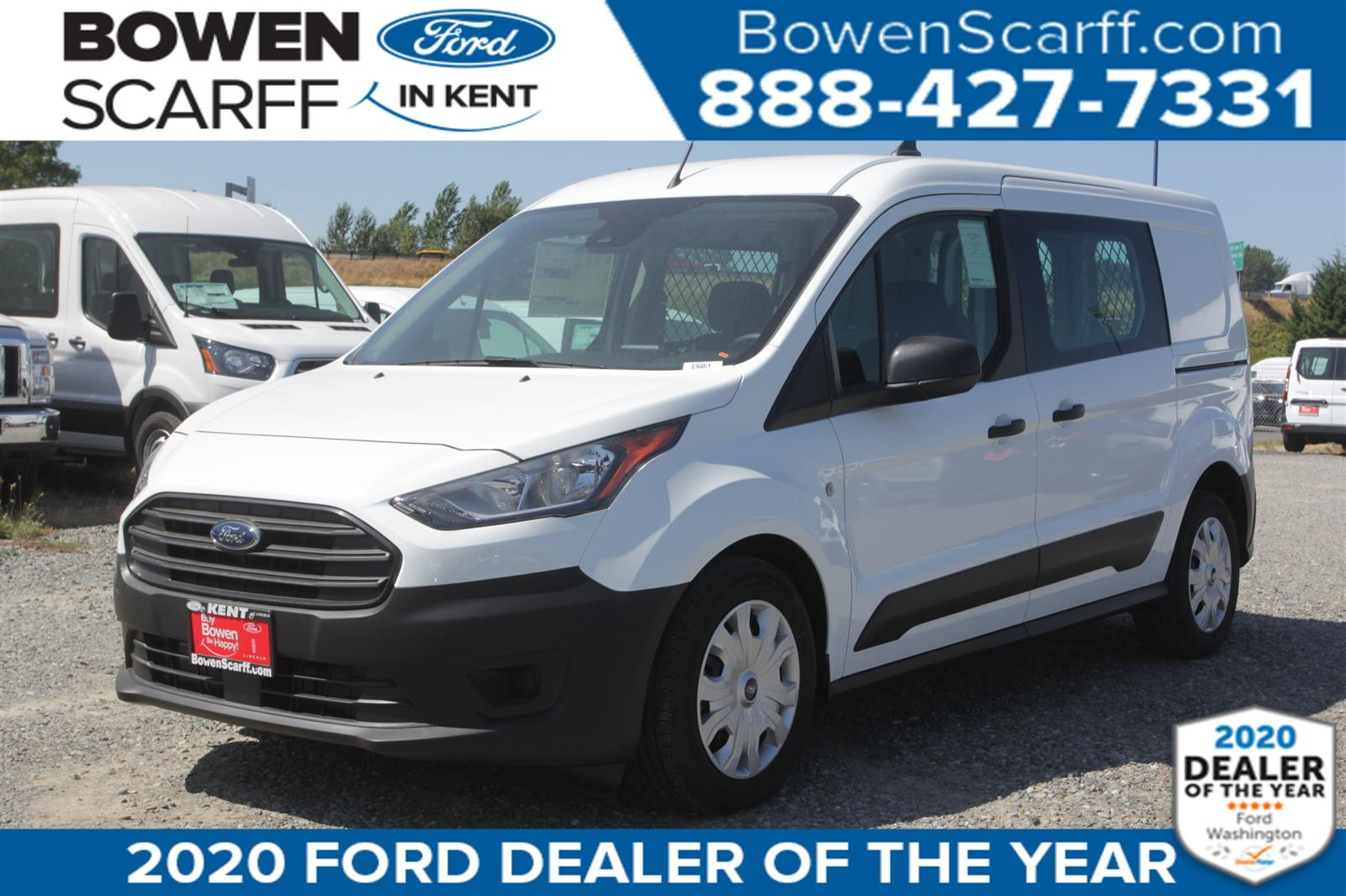 2020 Ford Transit Connect, Empty Cargo Van #E9437 - photo 1