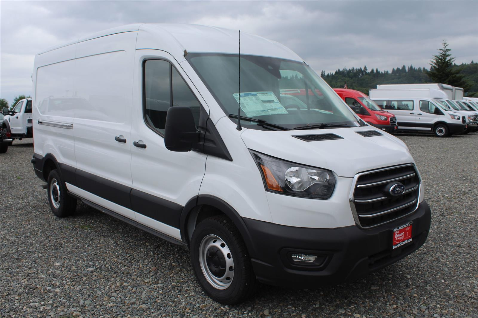 2020 Ford Transit 250 Med Roof RWD, Empty Cargo Van #E9456 - photo 4