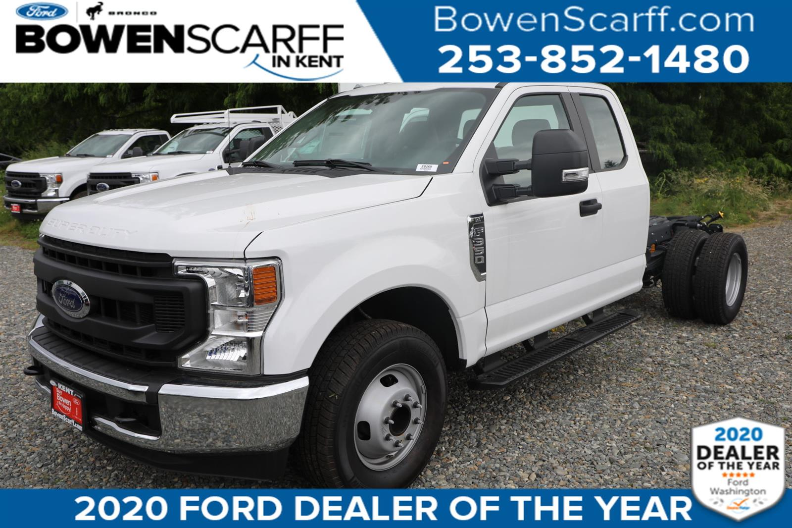 2020 Ford F-350 Super Cab DRW 4x2, Cab Chassis #E9469 - photo 1