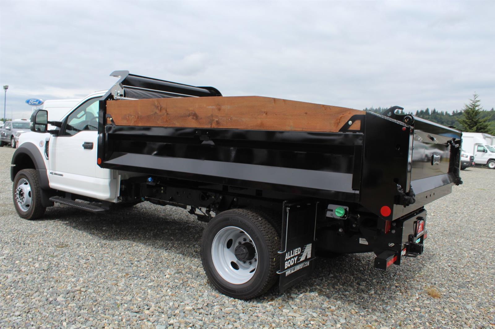 2020 Ford F-550 Regular Cab DRW 4x4, Knapheide Rigid Side Dump Body #E9514 - photo 2