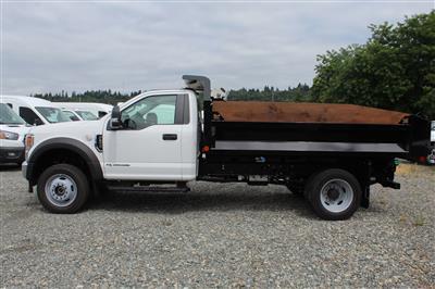 2020 Ford F-550 Regular Cab DRW 4x4, Knapheide Rigid Side Dump Body #E9514 - photo 9