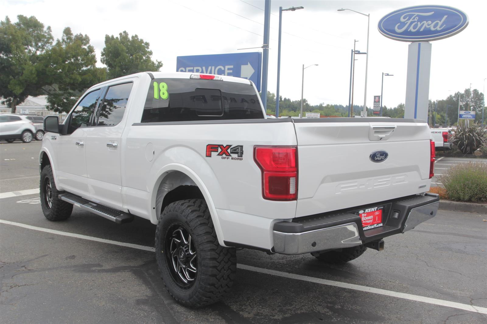 2018 Ford F-150 SuperCrew Cab 4x4, Pickup #E9526A - photo 2