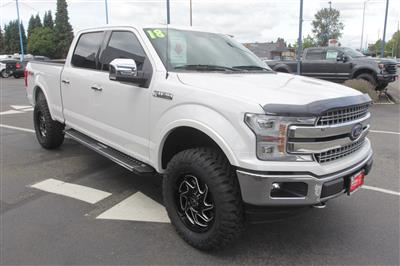 2018 Ford F-150 SuperCrew Cab 4x4, Pickup #E9526A - photo 4