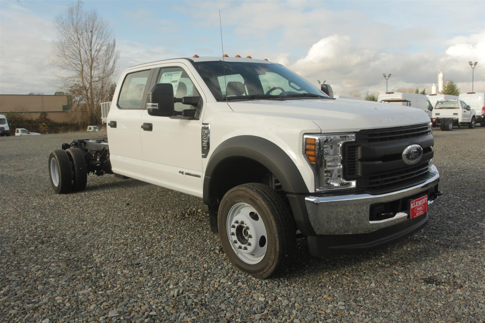 2019 Ford F-450 Crew Cab DRW 4x4, Cab Chassis #E9693 - photo 4