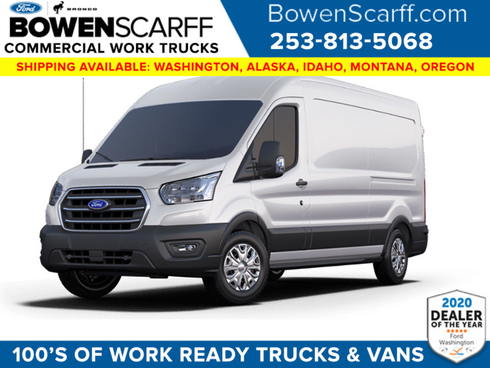 2020 Ford Transit 250 Med Roof AWD, Empty Cargo Van #E9801 - photo 1