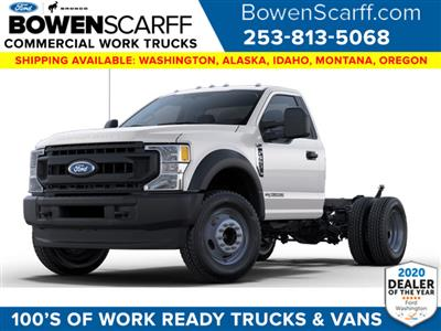2021 Ford F-550 Regular Cab DRW 4x4, Cab Chassis #E9816 - photo 1