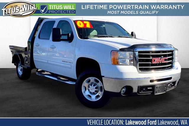 2007 GMC Sierra 2500 Crew Cab 4x4, Platform Body #LL6929K - photo 1