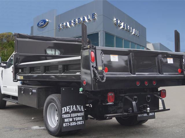 2017 F-350 Regular Cab DRW 4x4,  Rugby Dump Body #T17762 - photo 4