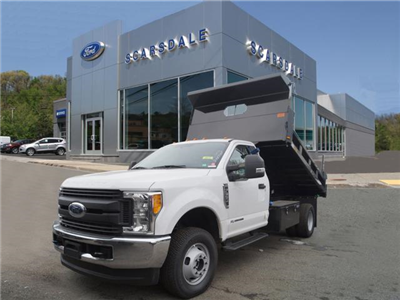2017 F-350 Regular Cab DRW 4x4, Rugby Eliminator LP Steel Dump Body #T17762 - photo 1