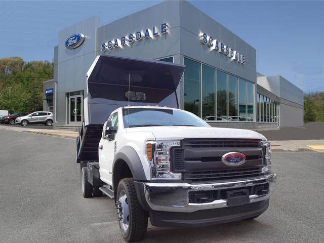 2018 F-550 Regular Cab DRW 4x4,  Dump Body #T18952 - photo 4