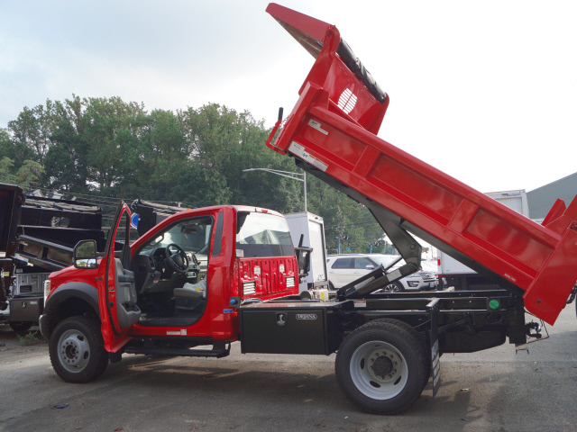2018 F-550 Regular Cab DRW 4x4,  Rugby Eliminator LP Steel Dump Body #T18953 - photo 2