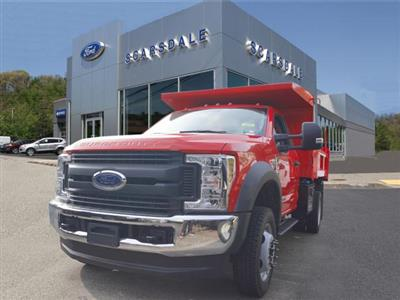 2018 F-550 Regular Cab DRW 4x4,  Rugby Eliminator LP Steel Dump Body #T18953 - photo 1