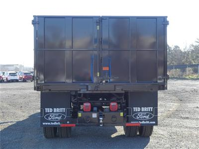 2021 F-750 Crew Cab DRW 4x2,  PJ's Truck Bodies Landscape Dump #C10086 - photo 3