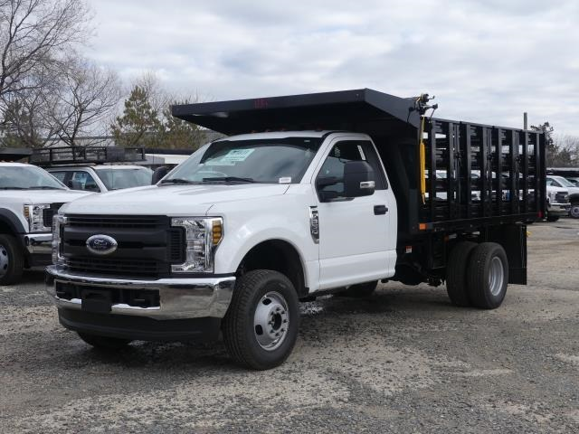 2019 Ford F-350 Regular Cab DRW 4x4, PJ's Stake Bed #C91832 - photo 1