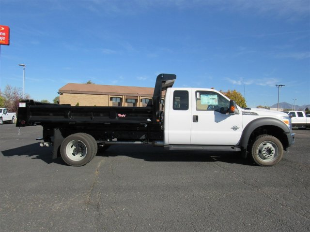 2016 F-450 Super Cab DRW 4x4, Rugby Dump Body #GEB45824 - photo 3