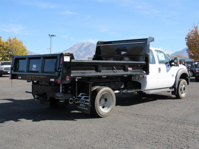 2016 F-450 Super Cab DRW 4x4, Rugby Dump Body #GEB45824 - photo 2