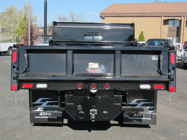 2016 F-450 Super Cab DRW 4x4, Rugby Dump Body #GEB45824 - photo 4