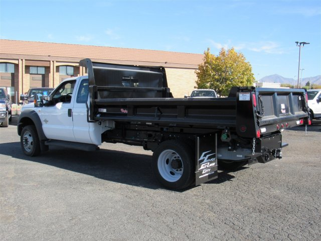 2016 F-450 Super Cab DRW 4x4, Rugby Dump Body #GEB45824 - photo 6