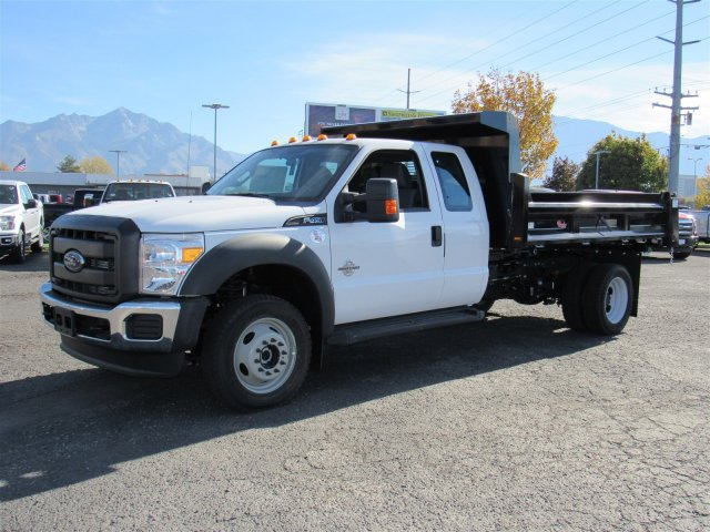 2016 F-450 Super Cab DRW 4x4, Rugby Dump Body #GEB45824 - photo 7