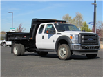 2016 F-450 Super Cab DRW 4x4, Rugby Dump Body #GEB45824 - photo 1