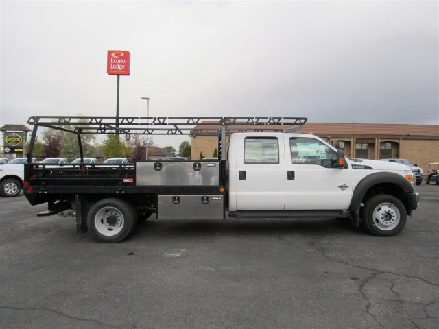 2016 F-550 Crew Cab DRW 4x4, Freedom Contractor Body #GEB98676 - photo 3