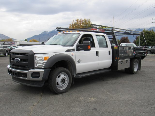2016 F-550 Crew Cab DRW 4x4, Freedom Contractor Body #GEB98676 - photo 7