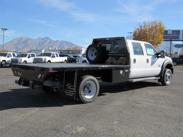 2016 F-550 Crew Cab DRW 4x4, Rugby Platform Body #GEC26740 - photo 2