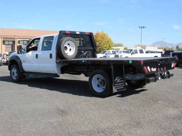 2016 F-550 Crew Cab DRW 4x4, Rugby Platform Body #GEC26740 - photo 7